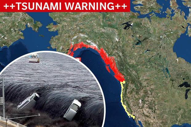 Ισχυρός σεισμός 8,2 Ρίχτερ στην Αλάσκα